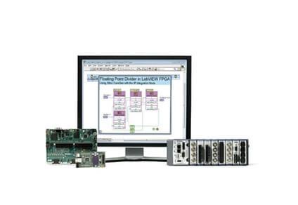desktop running labview